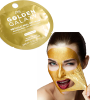 Masque Peel-Off Metallique GOLDEN GALAXY