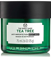 THE BODY SHOP_Tea Tree Anti-Imperfection_Masque de Nuit Purifiant_75ml